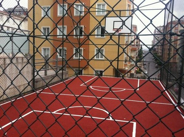 Açık Basketbol Sahası