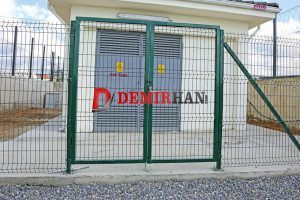 Cift Kanat Servis Kapısı