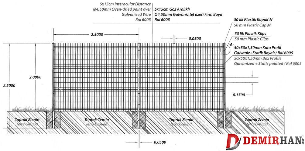 Single Panel Çit